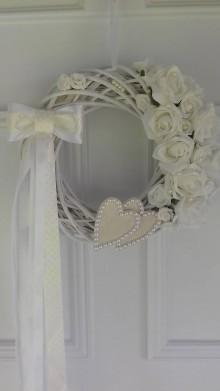 Dekorácie - svadobný venček - 8342581_