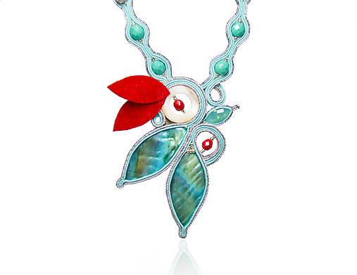 Tyskysový náhrdelník