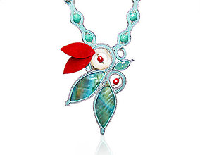 Náhrdelníky - Tyskysový náhrdelník - 8344513_