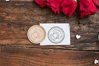 Darčeky pre svadobčanov - Svadobná pečiatka - 8344961_