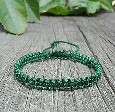 Šperky - Zelený náramok - 8343684_