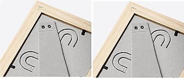 Rámiky - Maľovaný rámček - Nežnosť - 8343208_