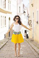 Sukne - letná sukňa