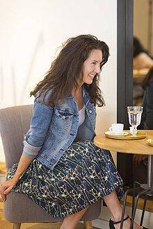 Sukne - nariasená sukňa