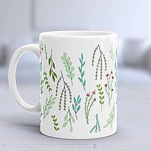 Nádoby - Šálka bylinky a rastlinky - 8343514_