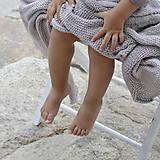 Textil - Detská dečka...šedobéžová - 8344484_
