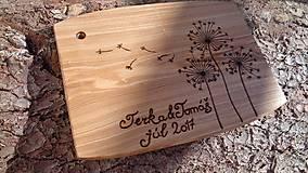 Pomôcky - Svadobný lopár (cca25x35cm) - 8343883_