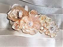 Opasky - Kvetinový opasok - 8345836_