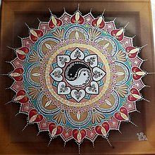 Obrazy - Mandala partnerskej harmónie - 8346423_