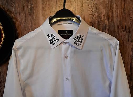 2c43b4eb7 Košeľa s ľudovým motívom / FolkFurt - SAShE.sk - Handmade Košele