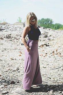 Sukne - Dlhá sukňa s vreckami - 8345597_