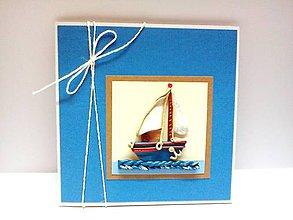 Papiernictvo - Pohľadnica ... pre námorníka - 8349403_