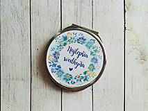 Darčeky pre svadobčanov - Svadobné zrkadielko - 8348874_