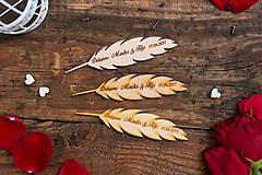 Darčeky pre svadobčanov - Pierko 1 BB - 8348967_