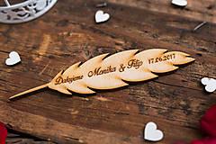 Darčeky pre svadobčanov - Pierko 1 NB - 8348980_