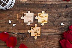 Darčeky pre svadobčanov - Puzzle 1 BB - 8349038_