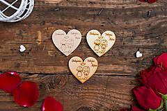 Darčeky pre svadobčanov - Srdce 1 NB - 8349055_