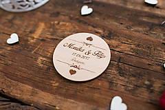 Darčeky pre svadobčanov - Kruh 2 BB - 8349096_