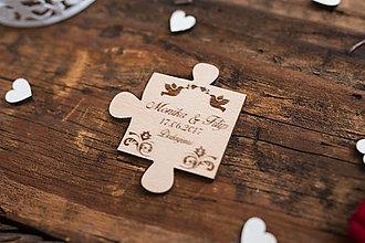 Darčeky pre svadobčanov - Puzzle 2 BB - 8349047_