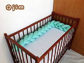 Textil - Vrkoč-detský mantinel - 8349579_