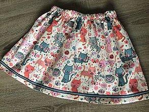 Detské oblečenie - Suknička pre kočku - 8348732_