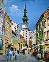 Obrazy - Michalská brána - 8348682_