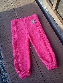 Detské oblečenie - Ružové nohavičky - 8351789_