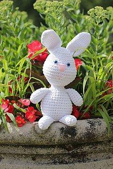 Návody a literatúra - Háčkovaný zajačik 26 cm - Návod SK, EN - 8350306_