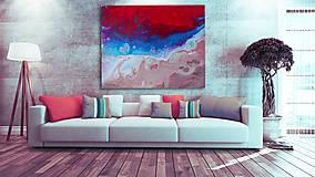 Obrazy - Abstraktný obraz - Amongst The Waves - na objednávku - 8351359_
