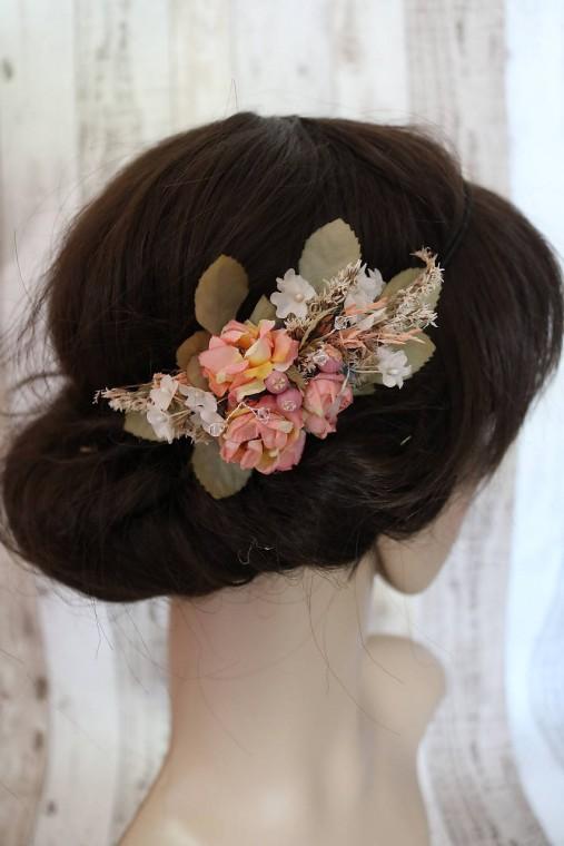 Spona do vlasov - Vintage   Sasha-M - SAShE.sk - Handmade Ozdoby do ... f86146384c