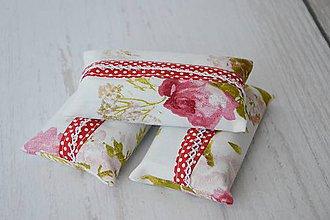 Iné tašky - Obal / zásobník na papierové vreckovky ruže - 8352891_