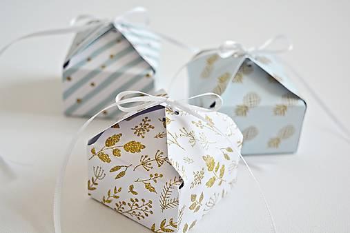 Krabičky - 3 Krabičky - mätové - 8355063_