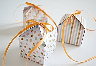Krabičky - 3 Krabičky - marhuľkové - 8355105_