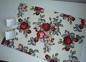 Úžitkový textil - Obrus Vyšívané ruže - 8352830_
