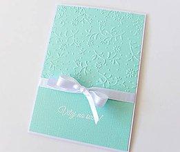 Papiernictvo - pohľadnica k narodeniu dieťatka - 8353180_