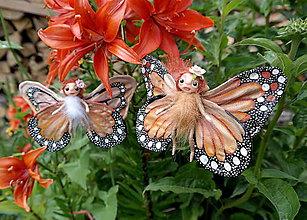 Dekorácie - ♥ Motýlia víla - ginger ♥ - 8352589_