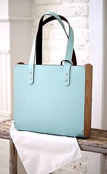 Veľké tašky - Taška SHOPPER BAG WIDE SKY BLUE - 8353092_