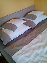 Úžitkový textil - Ľanové posteľné obliečky White - natural - 8352674_