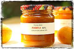 Potraviny - Marhuľový džem s kokosovým cukrom - 8355028_