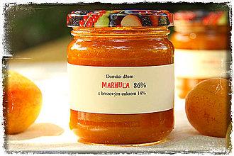 Potraviny - Marhuľový džem s brezovým cukrom - 8355085_