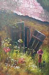 Obrazy - Staré stodoly - 8355096_
