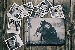 Fotoalbum klasický s autorskou ilustráciou ,,Sloní čas,, (dočasne nedostupné)