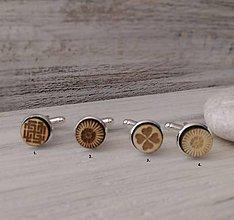 Šperky - Manžetové gombíky - mini - 8353606_