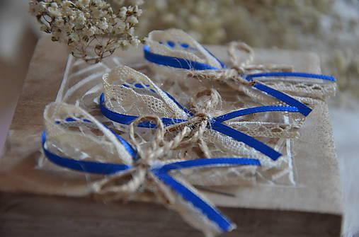 Pierka - Svadobné pierko - kráľovská modrá - 8353847_