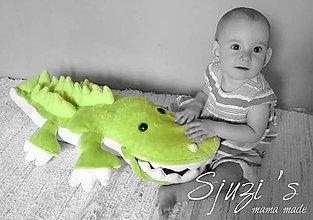 Hračky - Vycerený krokodíl - 8354354_