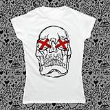 Tričká - Lebečka Bumpkinova/ dámske tričko - 8353850_