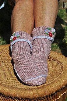 Obuv - Ružové ponožky - 8354105_