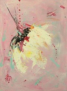 Obrazy - ružový sen mini - 8353373_