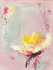 Obrazy - ružový sen mini2 - 8353387_