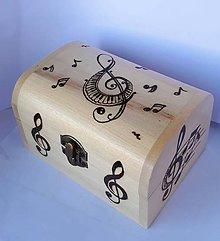 Krabičky - Drevená krabička k motýliku - 8353205_